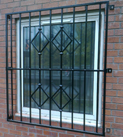 architectural security window
