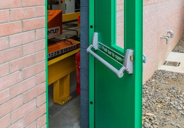steel doors keighley