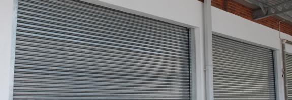 wind resistant roller shutter doors